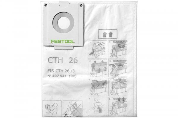 Festool Sac de filtrare de siguranta FIS-CTH 48 3