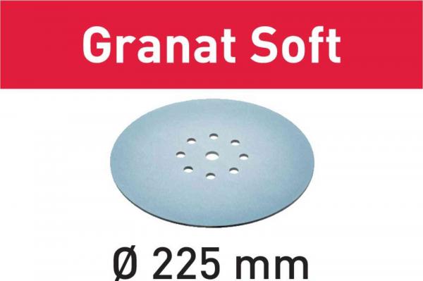 Festool Foaie abraziva STF D225 P100 GR S 25 Granat Soft