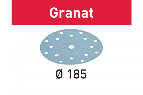 Festool Foaie abraziva STF D185 16 P180 GR 100 Granat