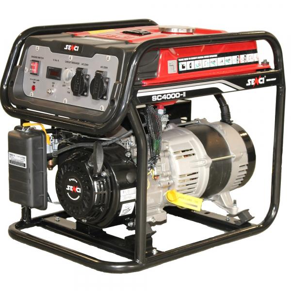 Generator curent monofazat SENCI SC-4000 Putere maxima 3.8 kw