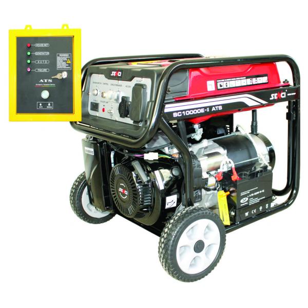Generator de curent monofazat Senci SC-10000E ATS Putere maxim 7.0 kw cu automatizare