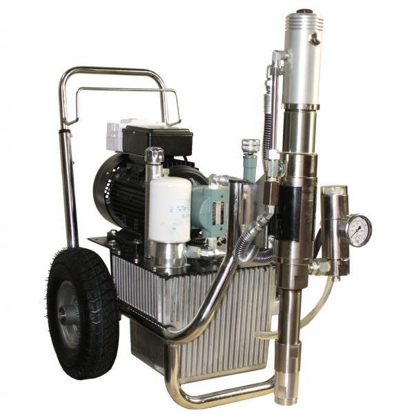 Pompa airless hidraulica pentru vopsit zugravit si gleturi lichide PAZ-9800e
