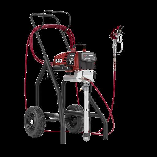 Pompa airless profesionala Titan Impact 540 Cart
