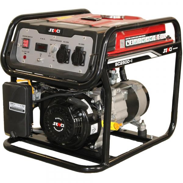 Generator de curent monofazat SENCI SC-2500 Putere max. 2.2 kw
