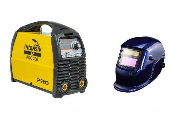 ARC 200 VRD - Aparat de sudura tip invertor + Masca cristale BLUE