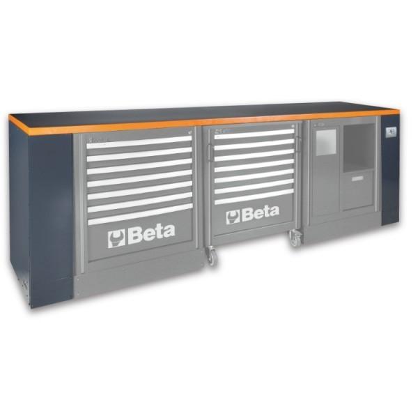 Banc de lucru modular, 2.8m, gri C55BG 2,8