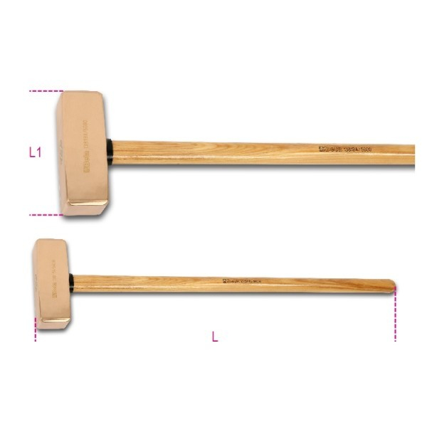 Baros, coada de lemn Antiex 1381BA