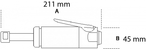 Biax pneumatic 1934BV