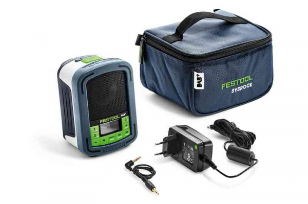 Festool Aparat radio digital BR 10 DAB+ SYSROCK