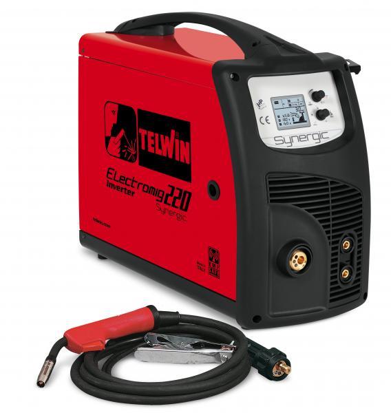 ELECTROMIG 220 SYNERGIC - APARAT DE SUDURA TELWIN tip MIG-MAG TIG MMA