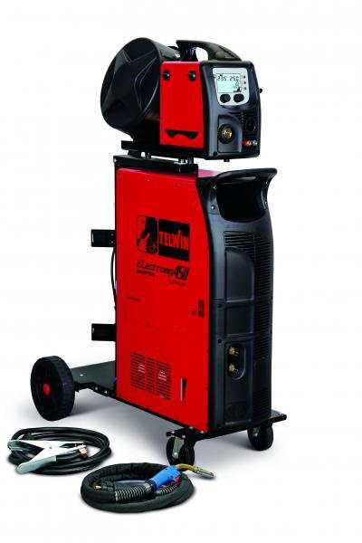 ELECTROMIG 450 SYNERGIC AQUA - APARAT DE SUDURA TELWIN tip MIG-MAG TIG MMA