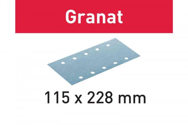 Festool Foaie abraziva STF 115X228 P120 GR 100 Granat