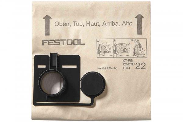 Festool Sac de filtrare FIS-CT 33 5