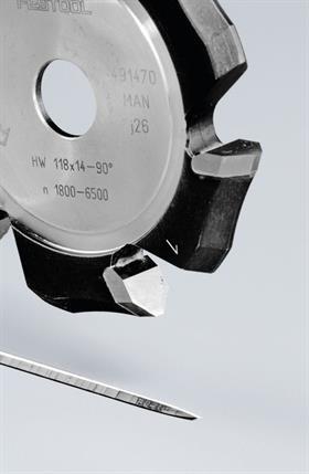 Festool Freza de canelat in forma de V HW 118x18-135 Alu