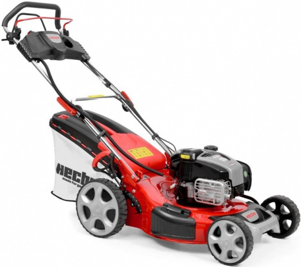 HECHT 548 INSTART Masina de tuns iarba, motor benzina, 4.6 CP, latime de lucru 46 cm