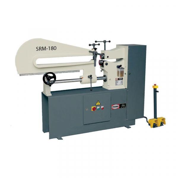 Masina de debitat tabla circular SRM-180