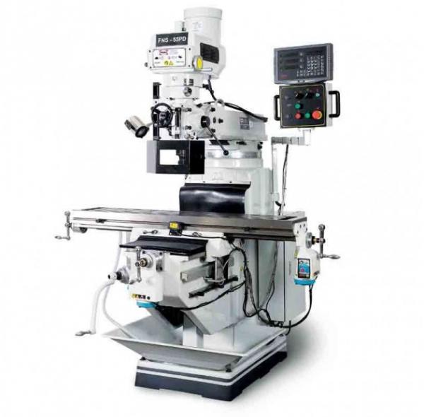 Masina de frezat metale universala cu afisaj de cote 60 mm 45 mm FNS-55PD