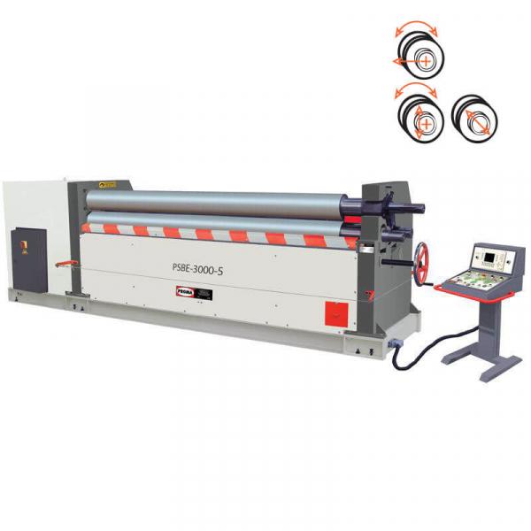 Masina de roluit tabla electromecanica cu 3 valturi PSBE-2050-4