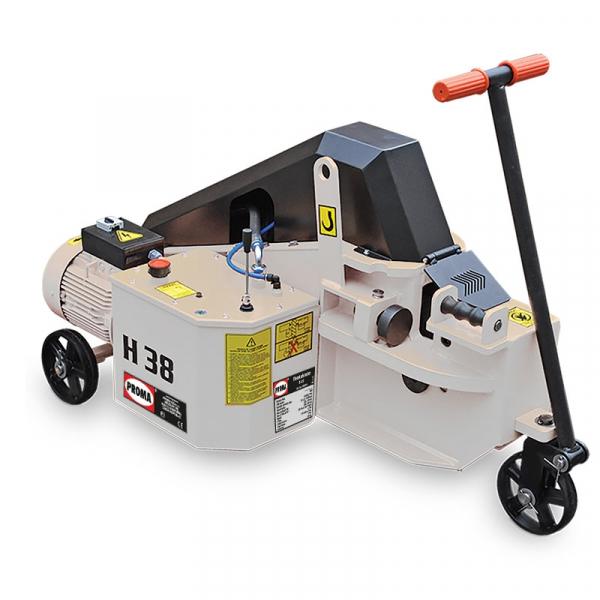 Masini debitat otel-beton hidraulice H38