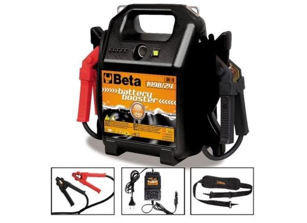 Robot de pornire portabil pentru autoturisme si vehicule comerciale, 12-24V 1498 24