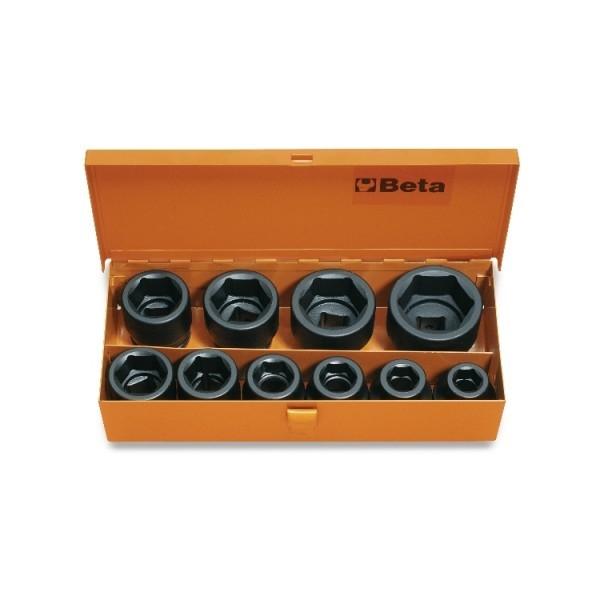 Set tubulare impact actionare 3 4 , 10 piese, 17-46mm 728 C10