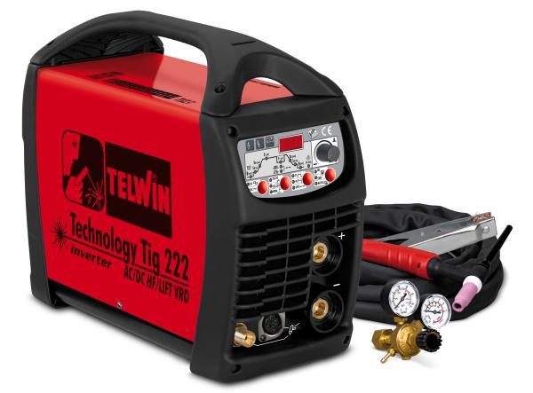 Technology Tig 222AC DC - HF LIFT - APARAT DE SUDURA TELWIN tip TIG